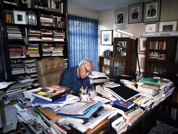 Carlos Monsivais estudio