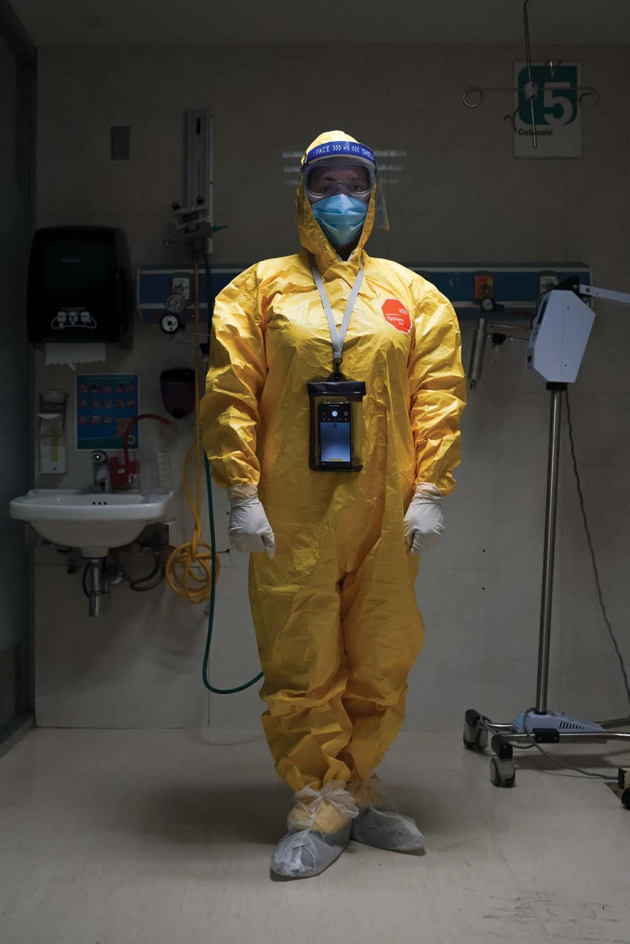 cuerpo medico pandemia covid 19 mexico