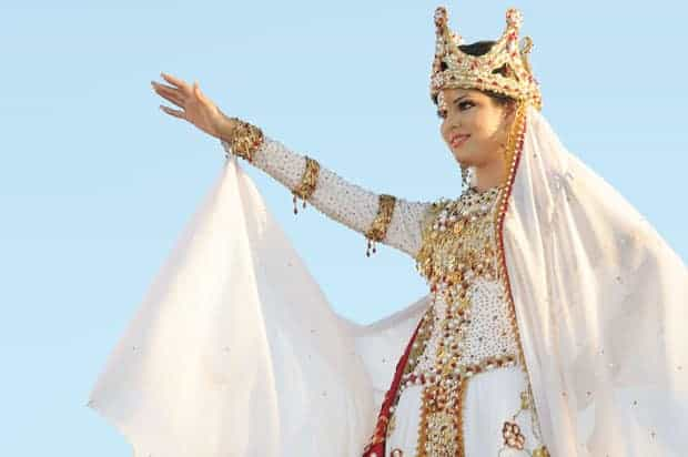reina del carnaval Abigaíl García