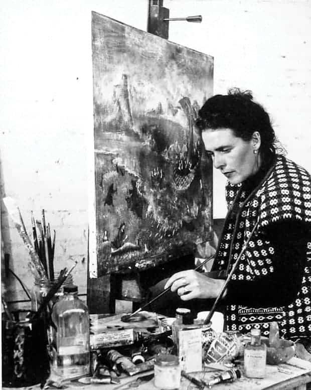 Leonora Carrington pintora mexicana