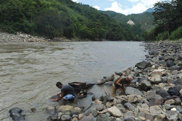 minería ilegal en Colombia, int5