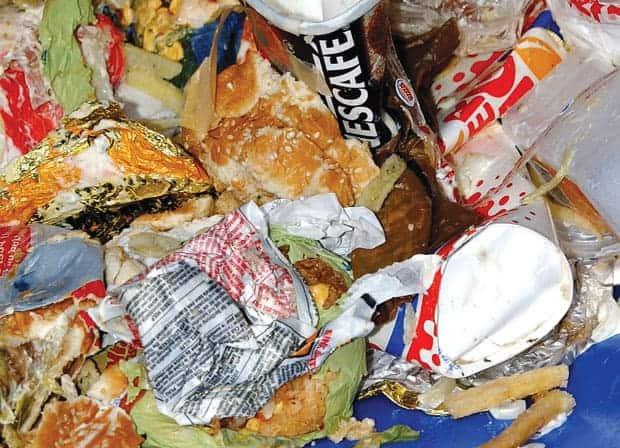 desperdicio de alimentos