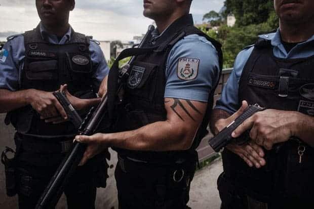 policía de pacificación de río de janeiro