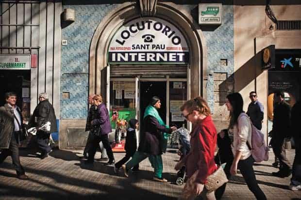 Locutorio de internet