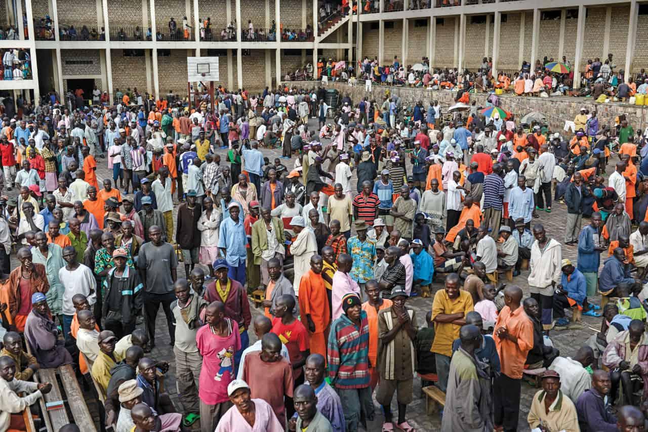 prisiones en Ruanda