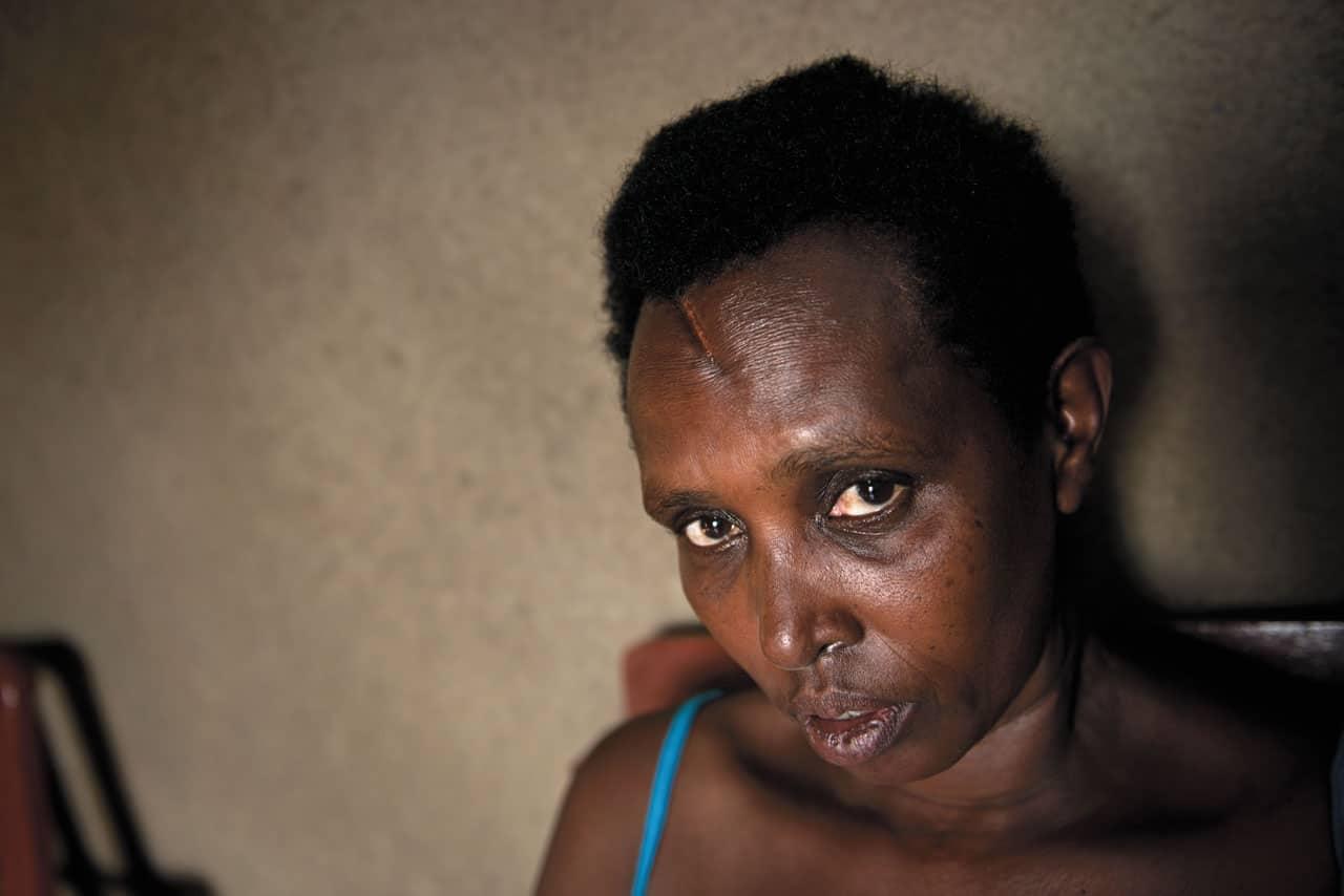 víctimas del genocidio de Ruanda