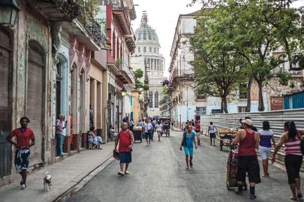 Cuba-Estados Unidos, Capitolio de La Habana