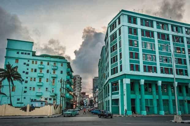 Cuba-Estados Unidos, Edificios de La Habana