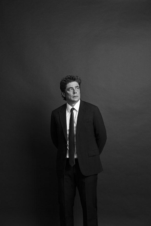 Benicio del Toro retrato