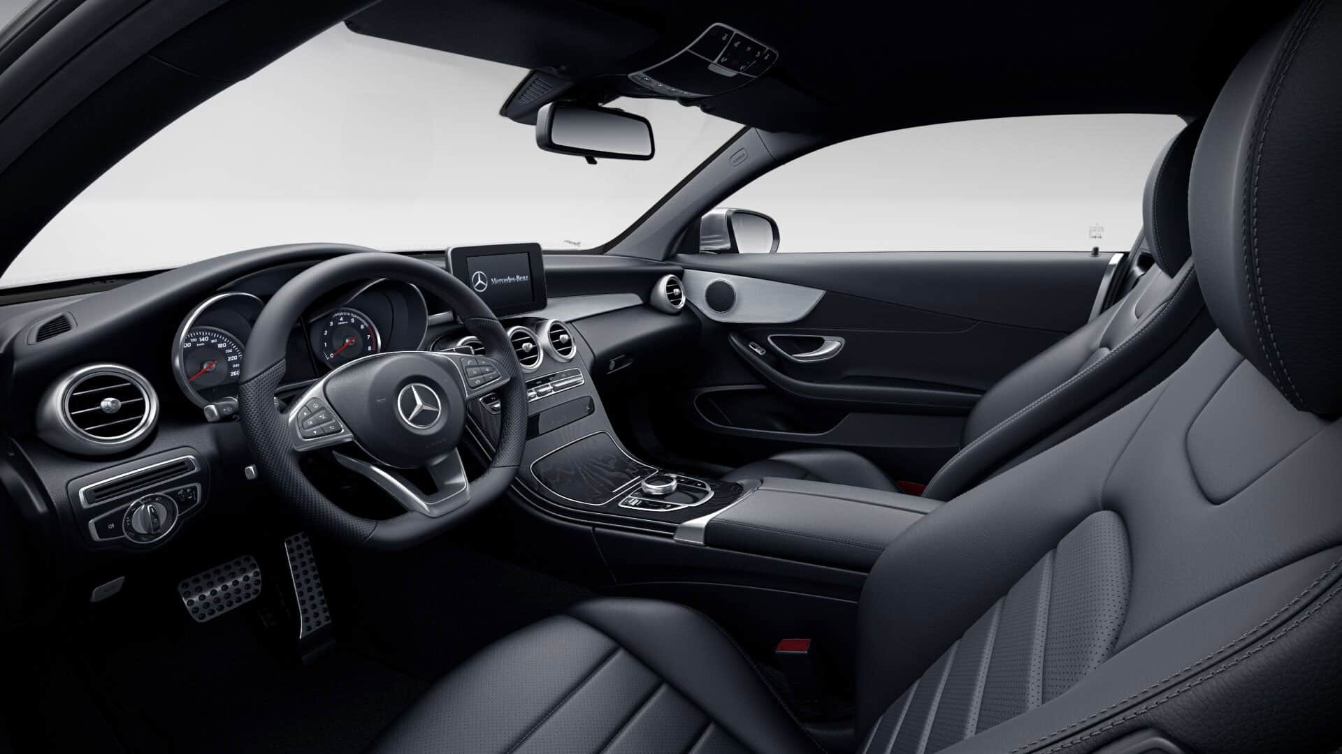 Interiores Mercedes-Benz Clase C