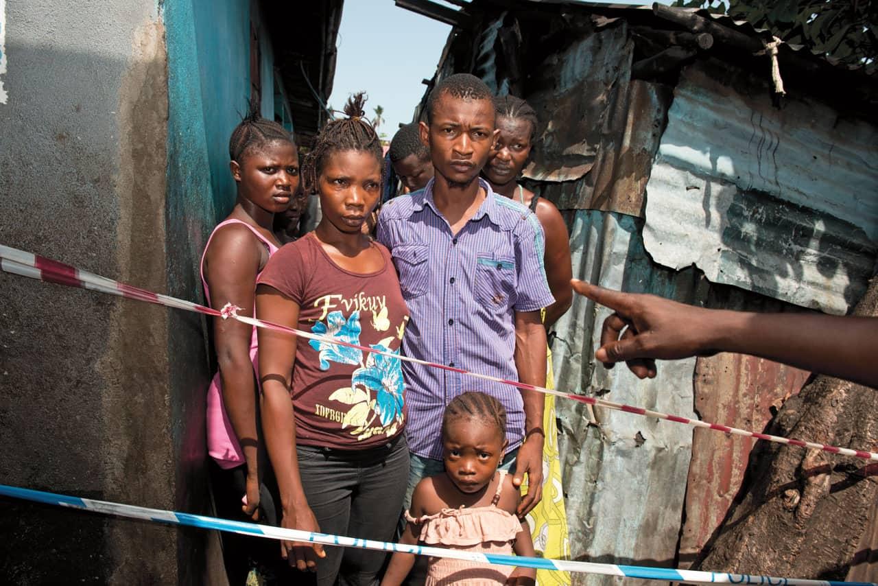 Freetown ébola