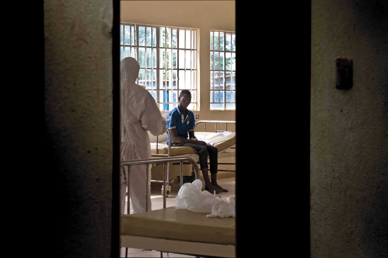 zona roja ébola