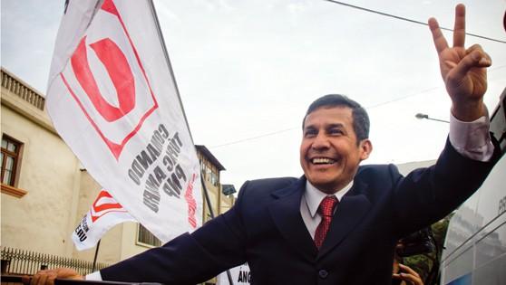 Un día de marzo, Humala amaneció como primero en las encuestas.