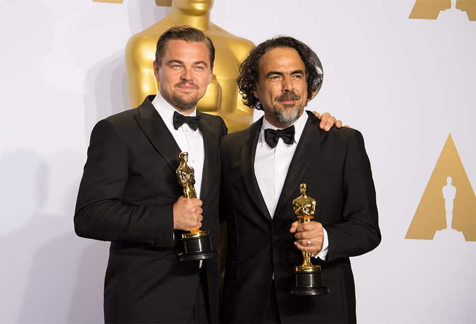Leonardo DiCaprio y Alejandro González Iñárritu