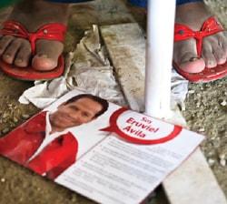 Las calles del Estado de México estaba tapizadas de propaganda de Eruviel Ávila durante la campaña.