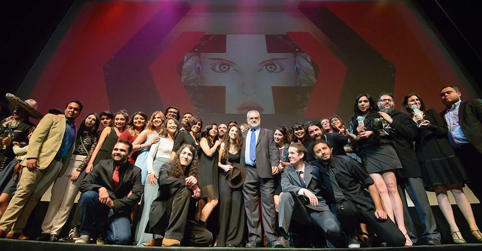 Ceremonia de clausura FICG 31. Fotografía de Gonzalo García / FICG.