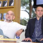 José Luis Trueba Lara y Julio Patán.