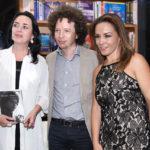 Beatriz Rivas, Michel Franco y Marisa Nava.