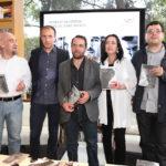 José Luis Trueba, Julio Patán, Maruan Soto, Beatriz Rivas y Jorge Alberto Gudiño.
