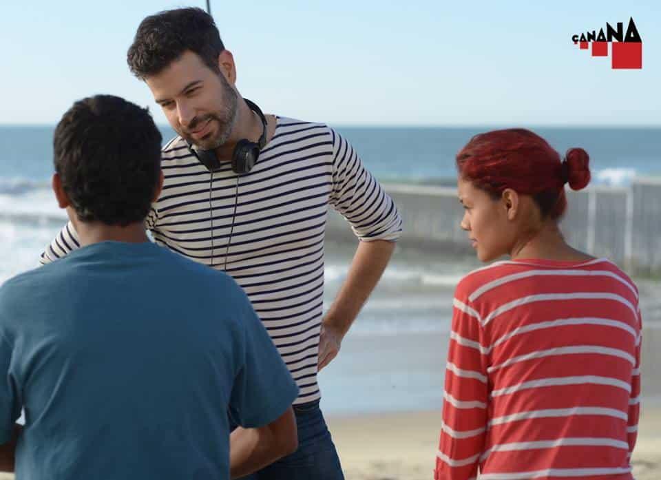 """David Pablos durante la filmación de """"Las elegidas"""". / Cortesía CANANA."""