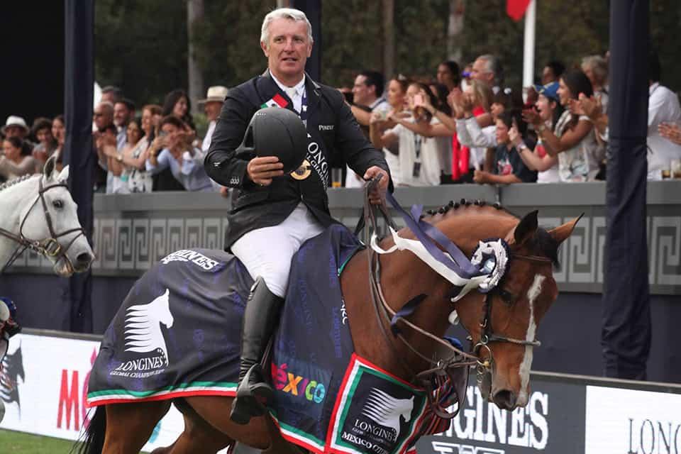 Roger-Yves Bost, ganador del Gran Premio Longines Global Champions Tour 2016.