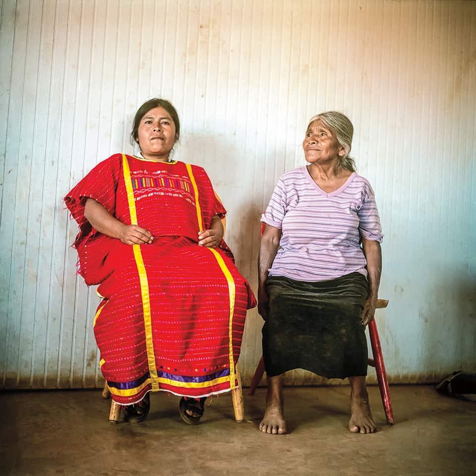 Celia Pérez y su madre son indígenas triqui que inmigraron de Oaxaca y hoy viven en el Valle de San Quintín, Baja California.
