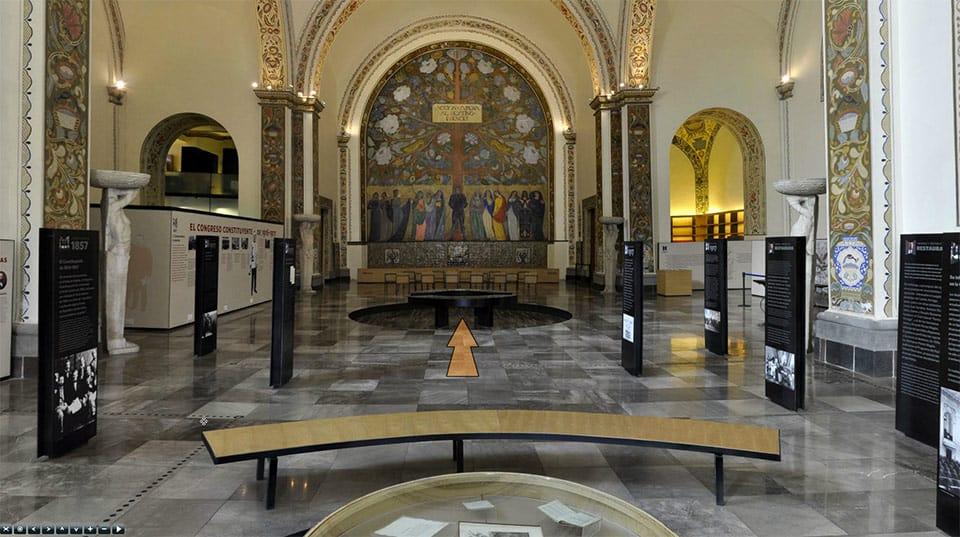 Recorrido virtual del Museo de las Constituciones.