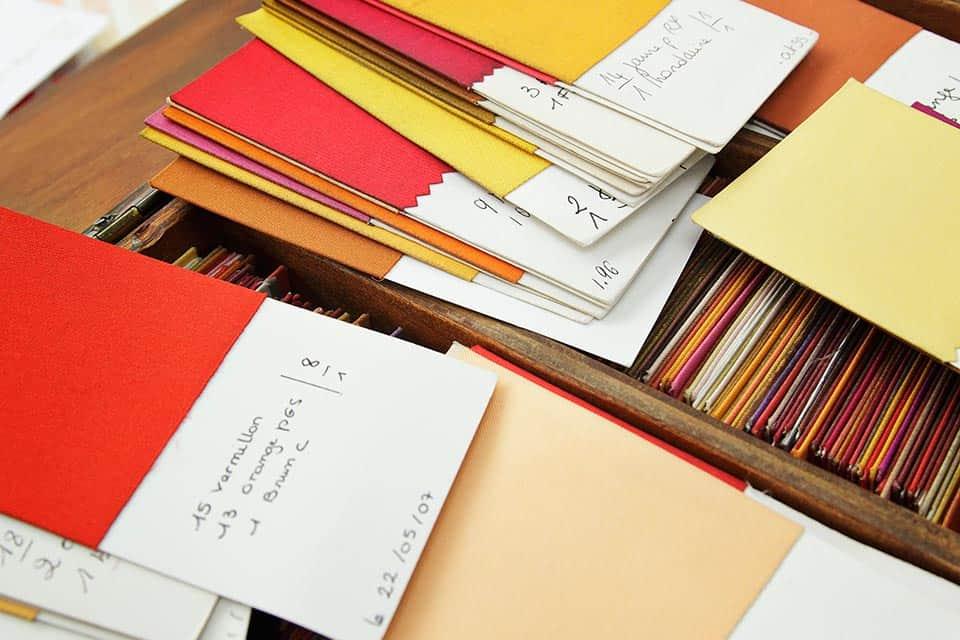 Detalle colores Hermès.