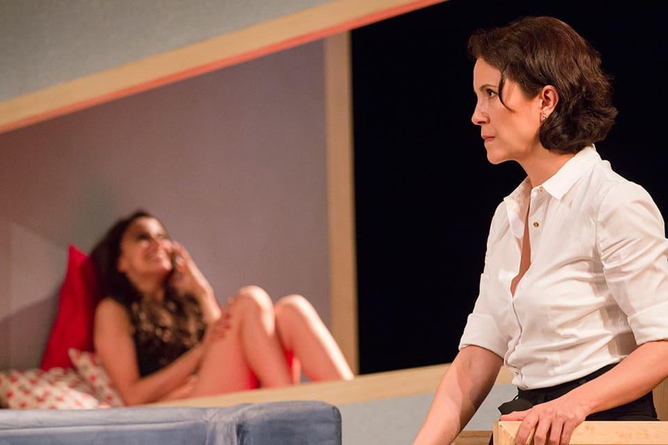 """Alejandra Ambrosi y Verónica Merchant, en """"Pasión""""."""