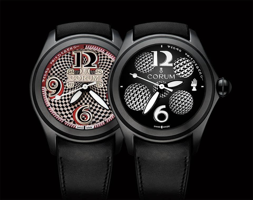 Relojes de Pedro Friedeberg y Corum