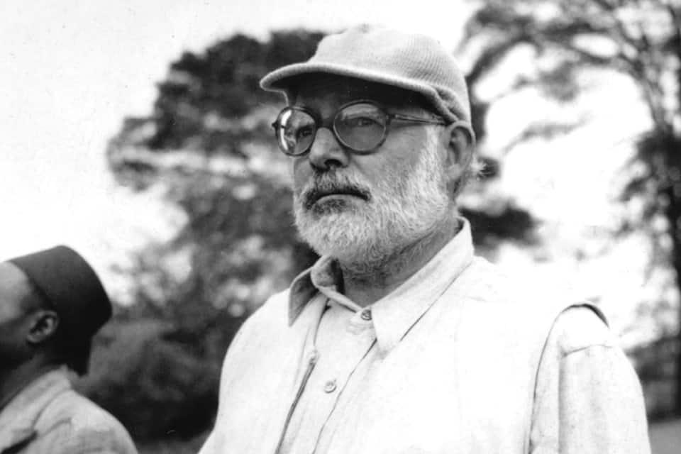 Ernest Hemingway retrato