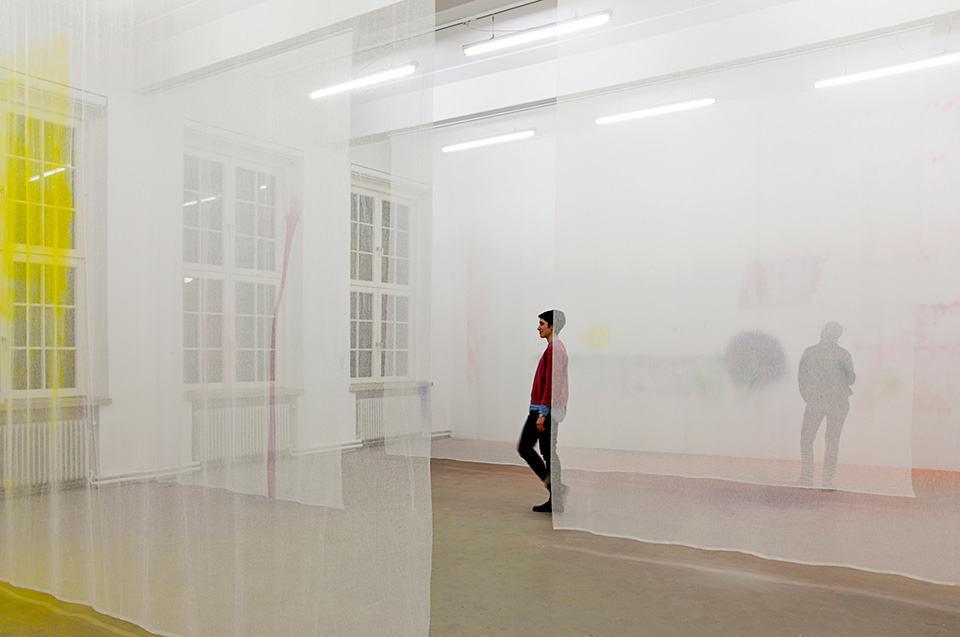 Instalación de Julius Heinemann