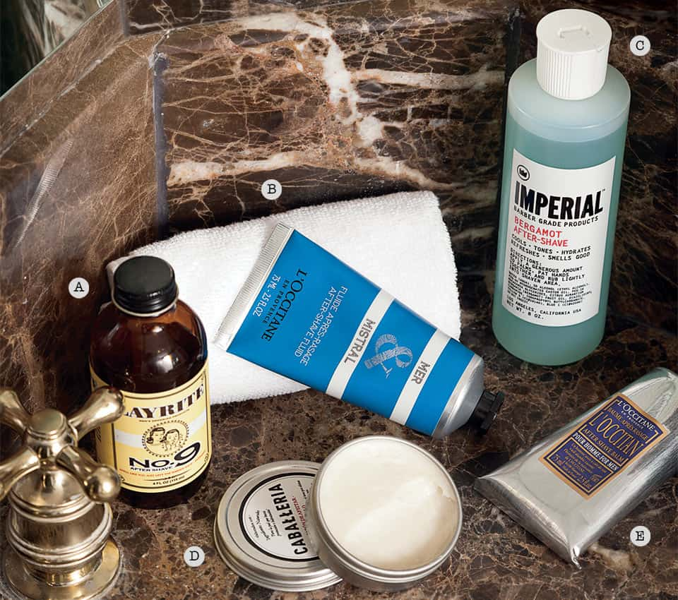 Grooming aftershave