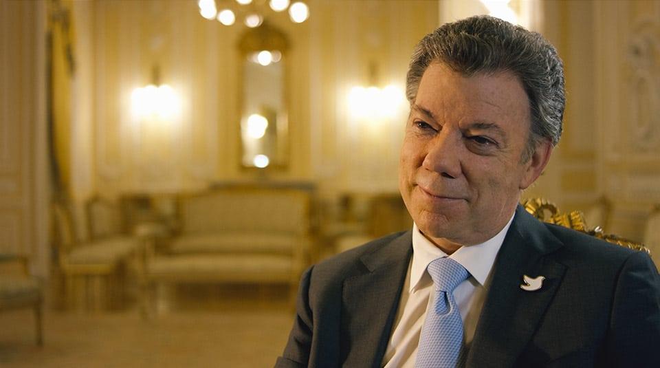 Guerras ajenas - Presidente Santos