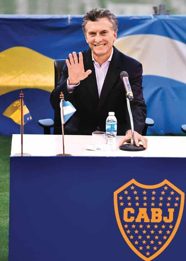 Mauricio Macri Boca Juniors