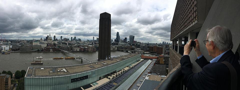 Vista desde el mirador del Tate Modern