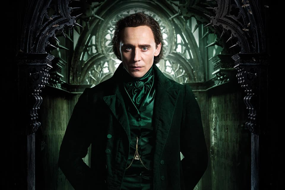 Tom Hiddleston en Crimson Peak