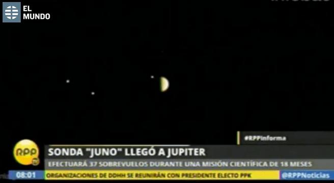 sonda Juno noticias