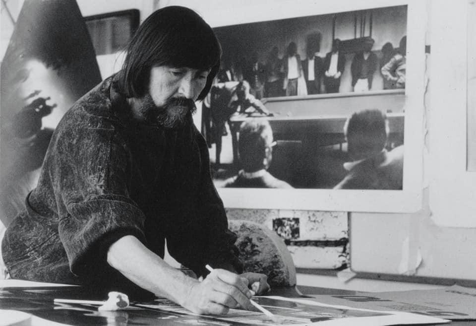 Fernell Franco en su estudio.