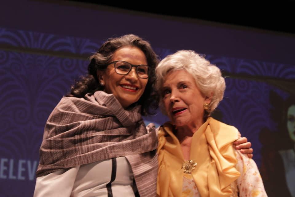 Evangelina Elizondo y Patricia Reyes Spíndola en el GIFF.