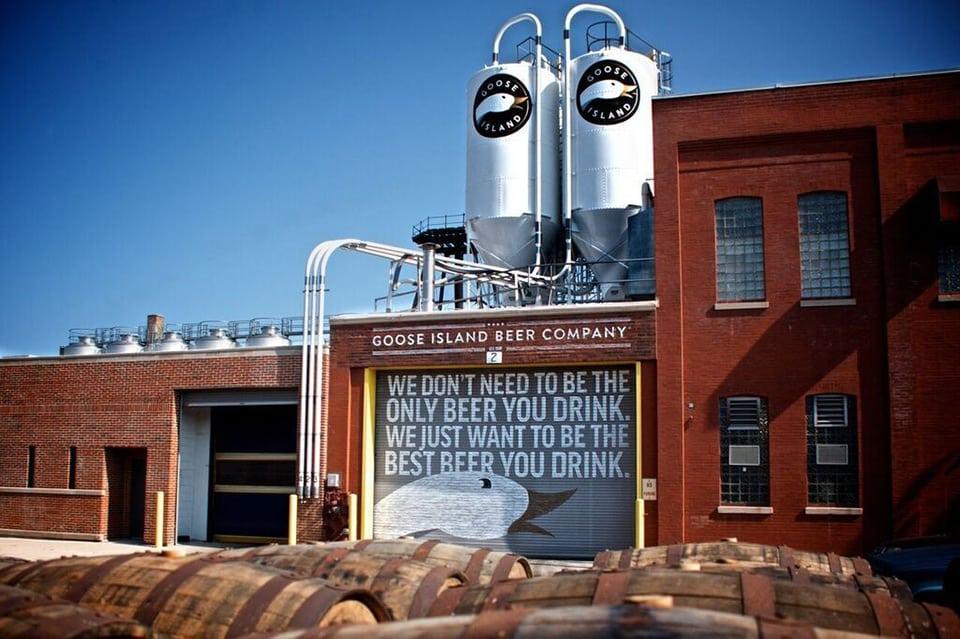 Goose Island, la cerveza artesanal más reconocida de Chicago, ya está disponible en México.