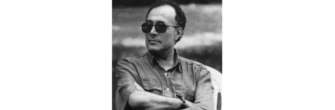 Retrato Abbas Kiarostami