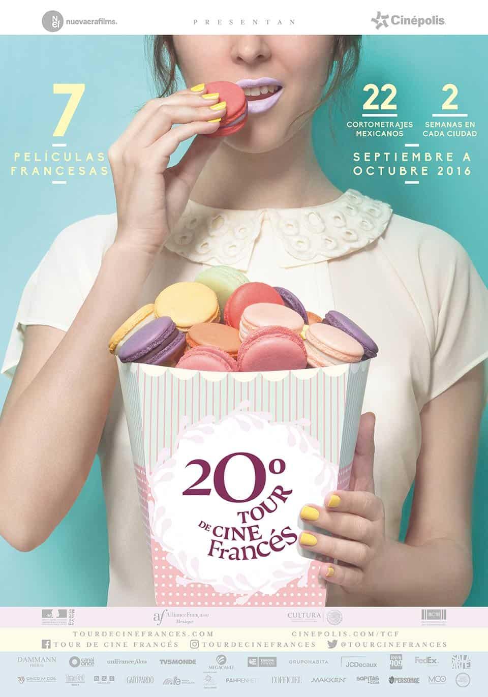 Cartel Tour de Cine Francés