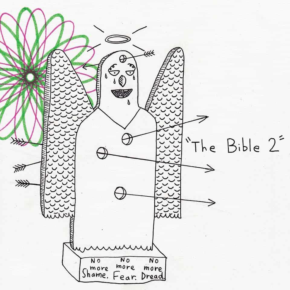 "Portada de ""The Bible 2"" - AJJ"