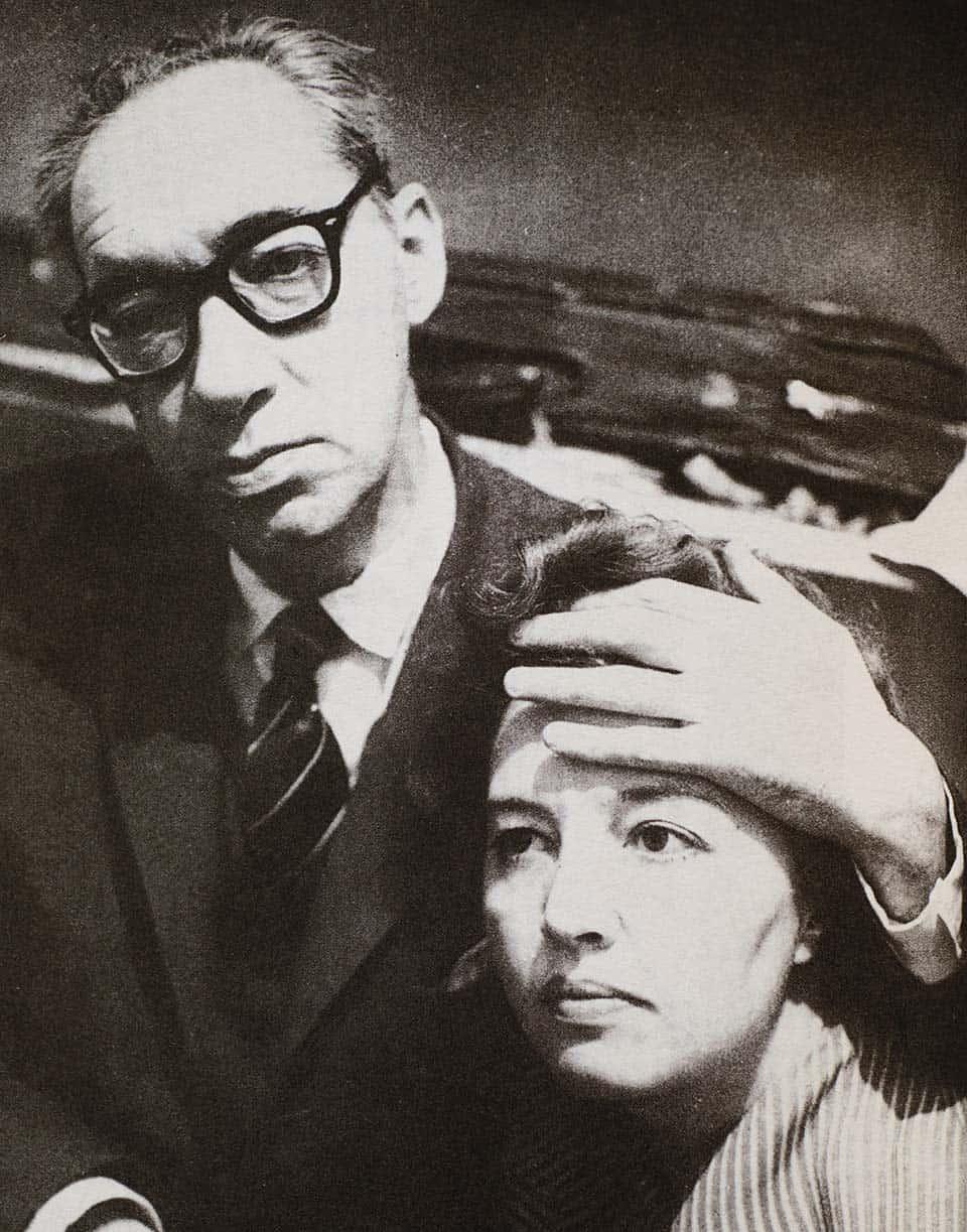 Juan Carlos Onetti y Dorotea Muhr vivieron juntos durante cuarenta años. Ella fue su cuarta esposa.