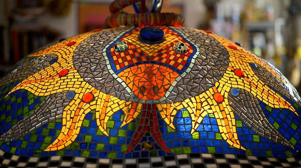 Mosaico en casa de Anado McLauchlin