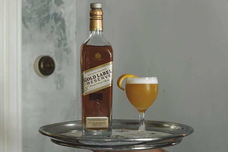 Cocteles de temporada - Johnnie Walker Gold Label