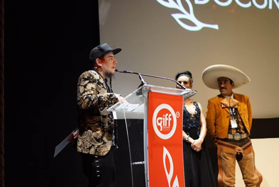 El charro de Toluquilla en el GIFF