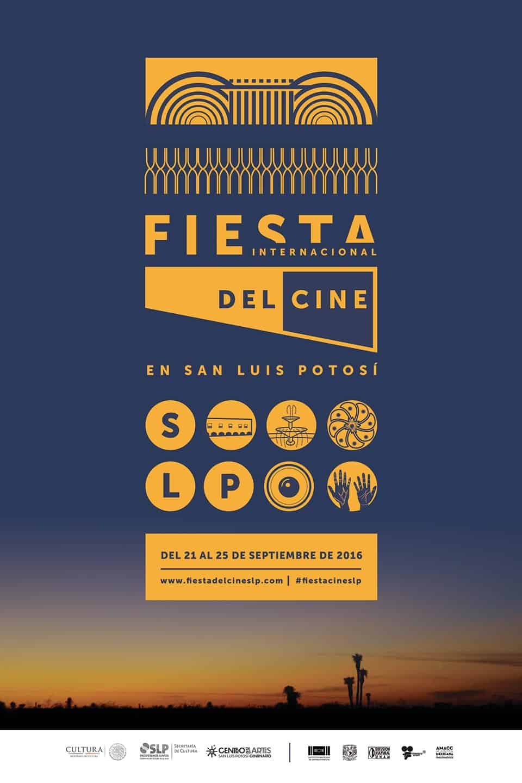 Cartel Fiesta Internacional de Cine en San Luis Potosí