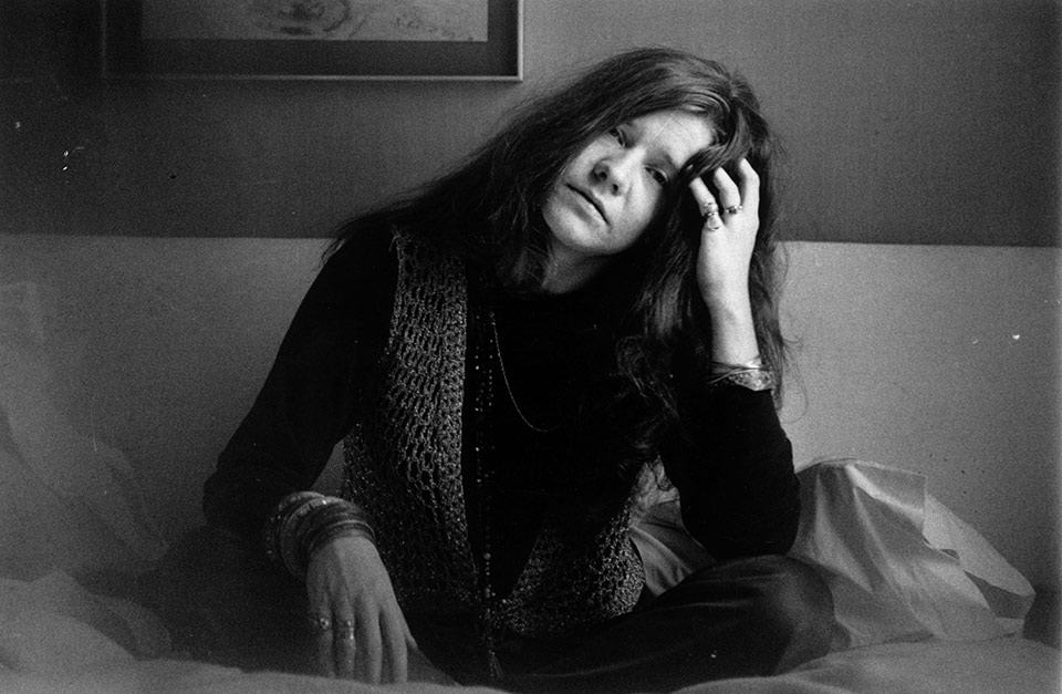Janis Joplin retrato principal